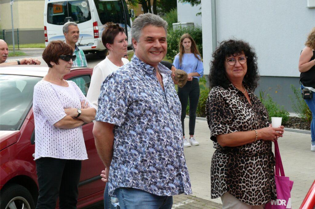 Michael Althoff und seine Frau Sigrid genossen die besonderen musikalischen Momente.