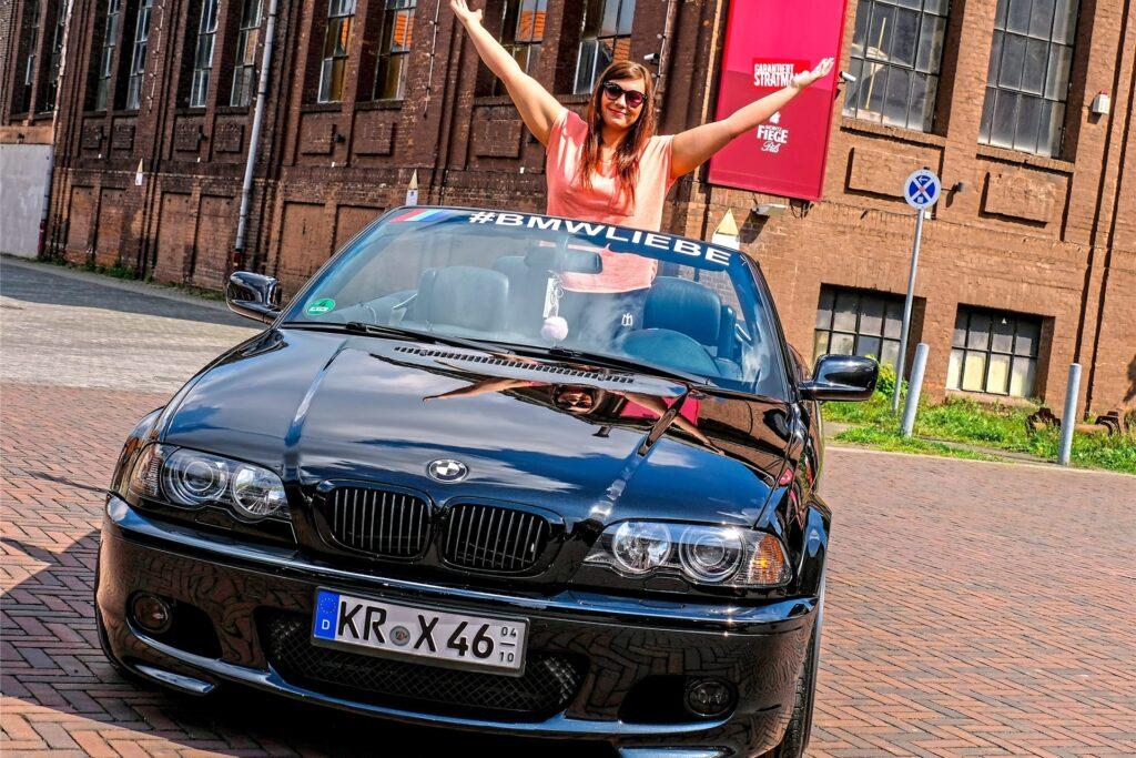 20 Jahre alt und schön wie am ersten Tag: Der 3er-BMW der vierten Generation von Sarah Amend.